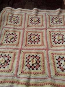 granny square blanket 1