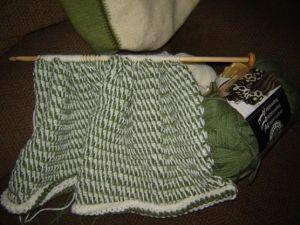 tunisian crochet baby blanket