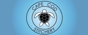 Banner for Cape Cod Stitchery; where my pattern designs will reside.