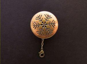 brass snowflake