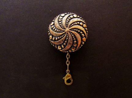 gold swirl